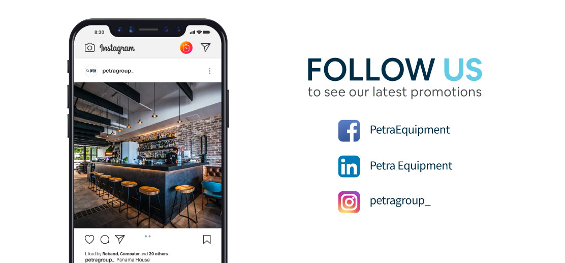 Petra Equipment social media