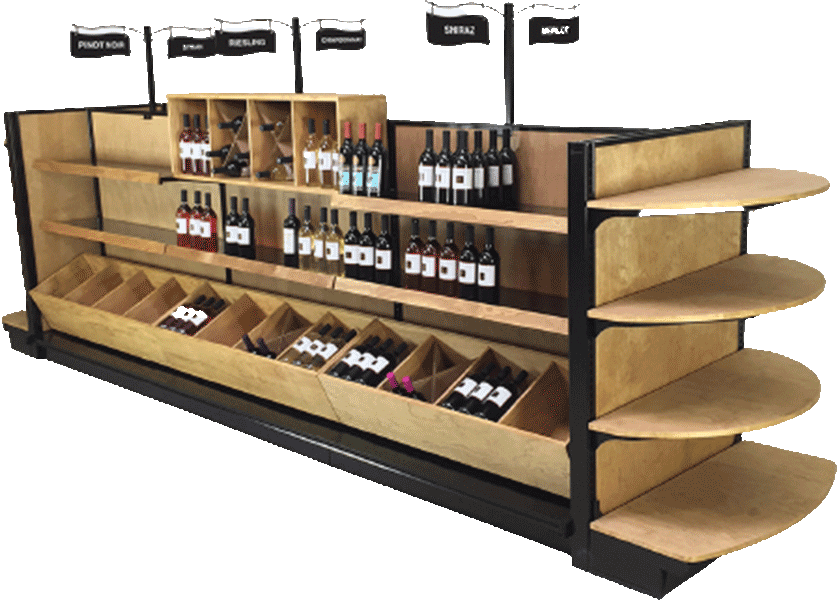 Liquor Shelves