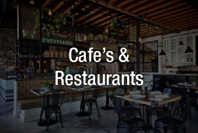 Cafe's and Restaurants