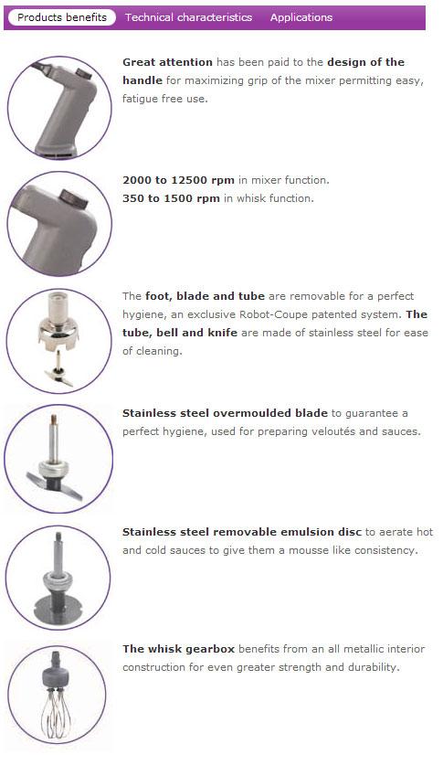Robot Coupe Mini Combi Blender