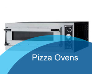pizza, mixer and ovens