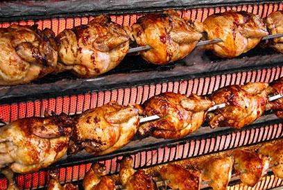 El Farouge Chicken Shop Display