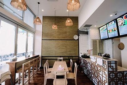 Greenway vietnamese restaurant design